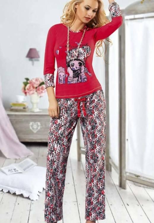 Anıt İç Giyim Bayan Happy Kız Pijama Takım 4320