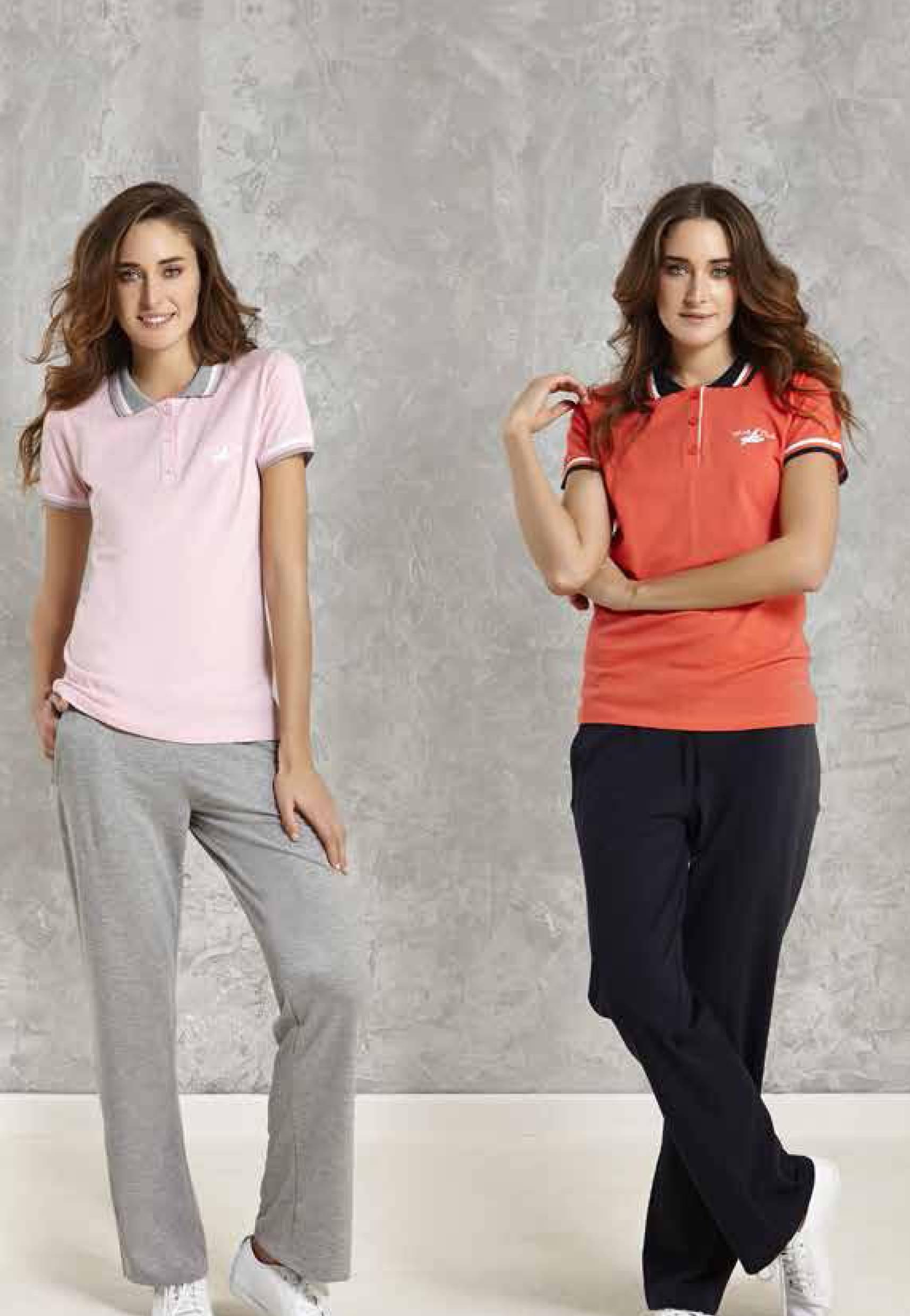 Mod Collection Bayan T-Shirt-Pantolon Takım 1433