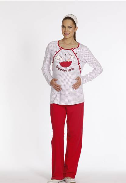 Dagi Bayan Lohusa Pijama Takım 400