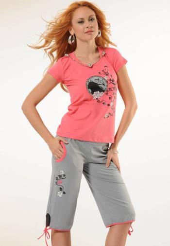 Anıt İç Giyim Bayan Dolunay Şort Takım 4343