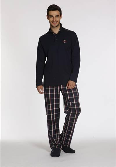 Dagi Erkek Flanel İnterlok Pijama Takım 694