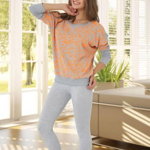 Anıl Bayan T-shirt Tayt Takım 9222