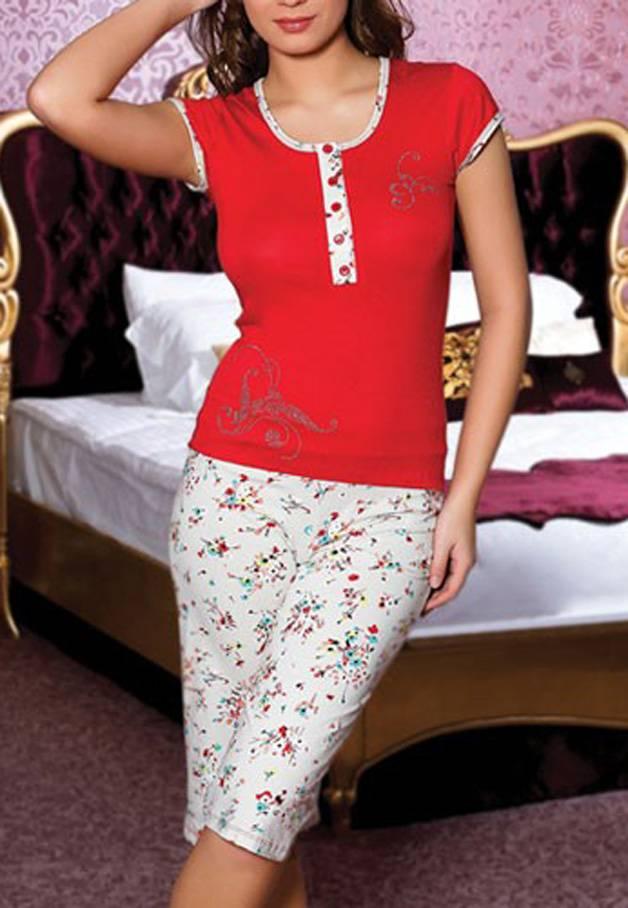 Anıl Kaprili Bayan Pijama Takımı 9104