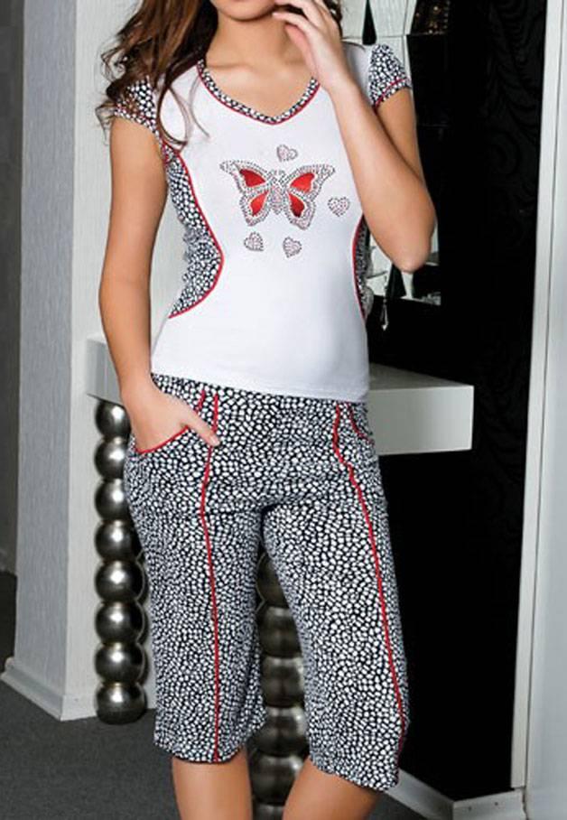 Anıl Kaprili Bayan Pijama Takımı 9109