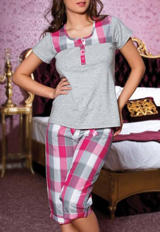 Anıl Kaprili Bayan Pijama Takımı 9142