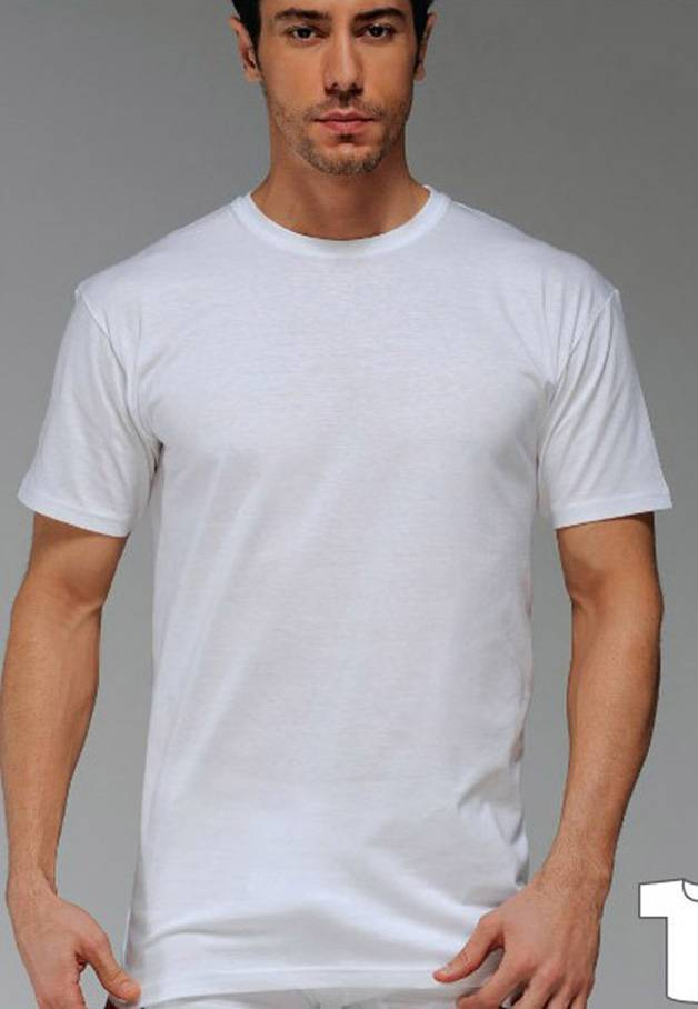 Çift Kaplan 6 Adet Süprem Erkek T-Shirt 947