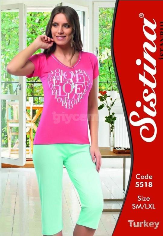 Bayan Pijama 5518