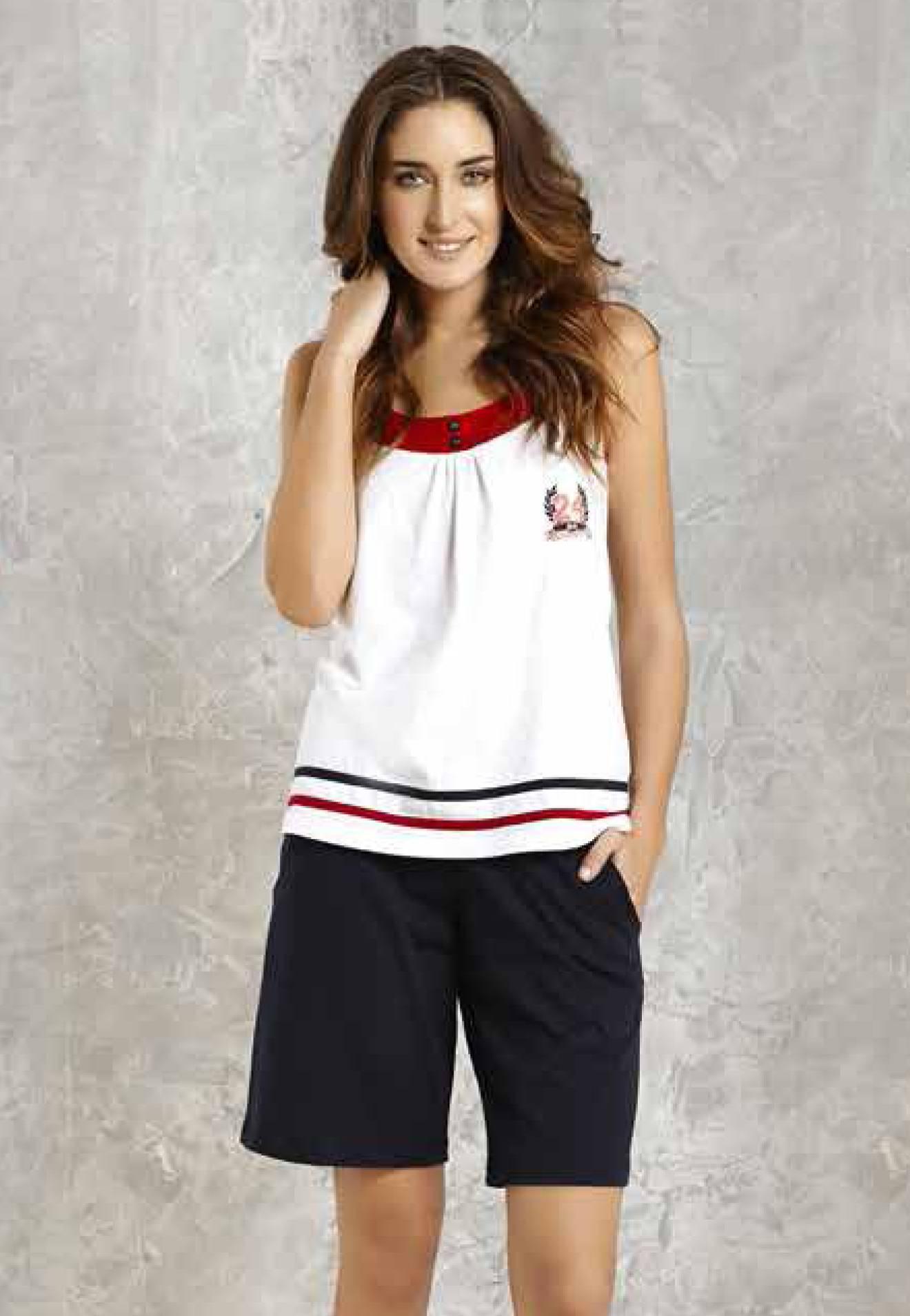 Mod Collection Bayan Atlet Şort Takım 1404