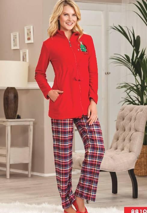 Pierre Cardin Polarlı Pijama Takım 8819