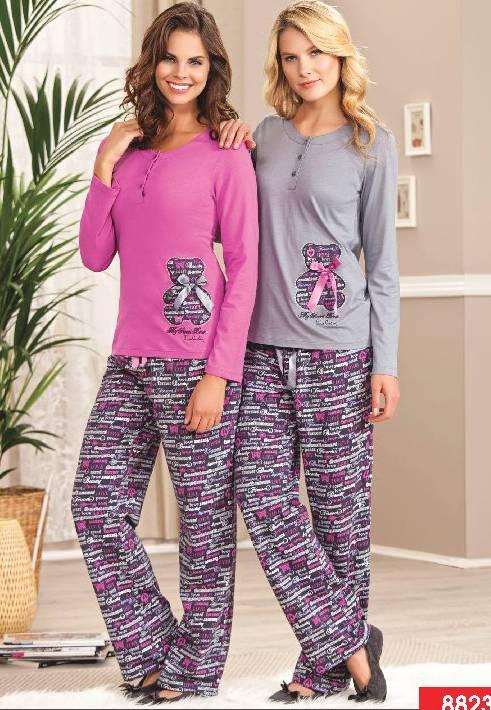 Pierre Cardin Patlı Pijama Takım 8823