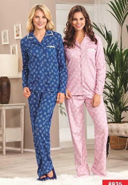 Pierre Cardin Boydan Patlı Pijama Takım 8835