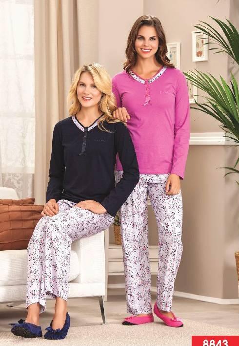 Pierre Cardin V Yaka Patlı Pijama 8843