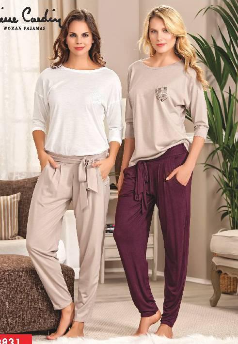 Pierre Cardin Şalvarlı Pijama Takım 8831
