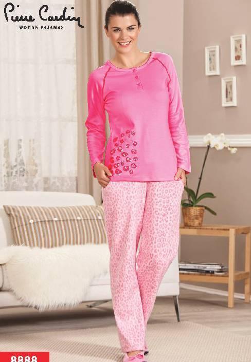 Pierre Cardin Polar Puanlı Pijama Takım 8888