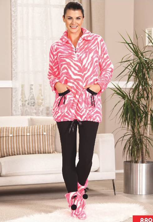 Pierre Cardin Polar Taytlı Pijama Takım 8891