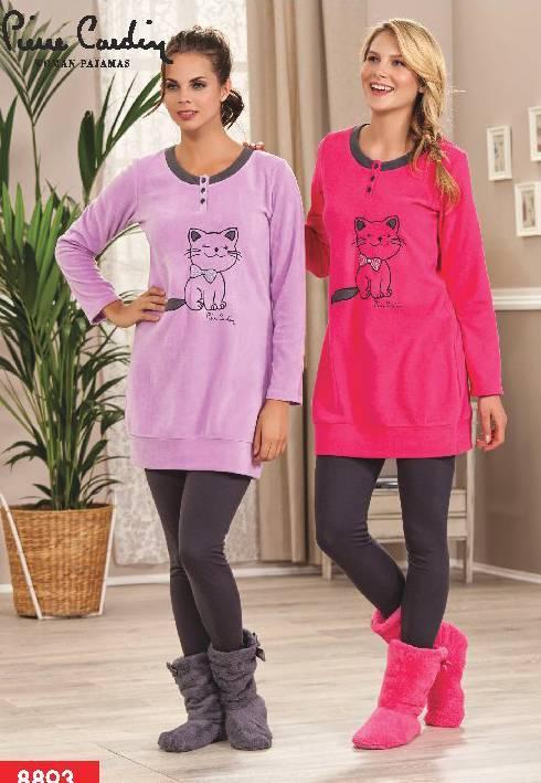 Pierre Cardin Polar Taytlı Pijama Takım 8893