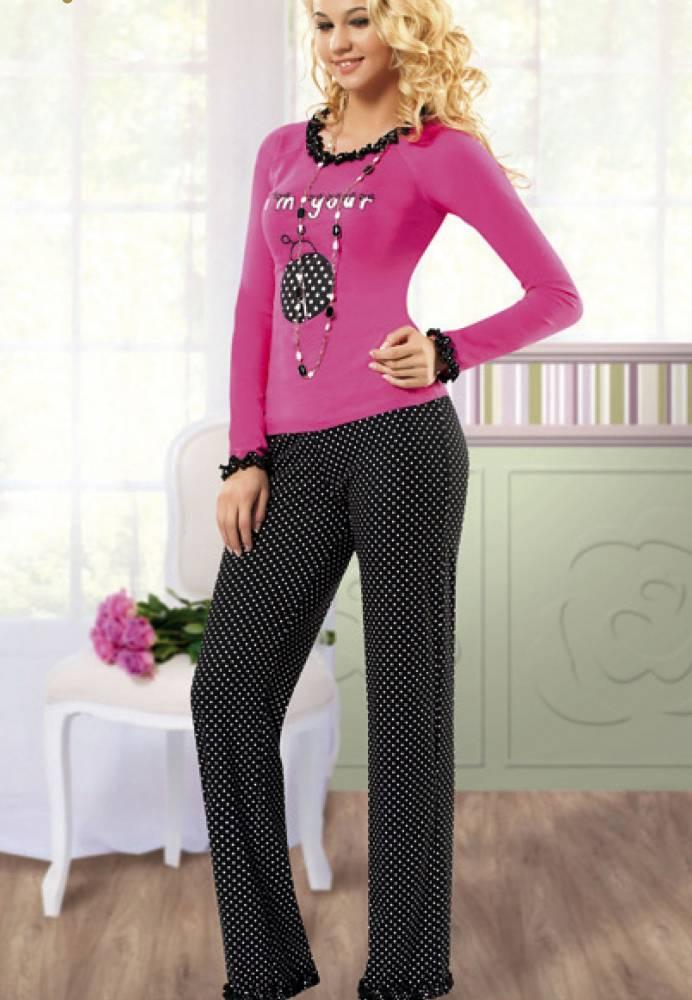 Anıt İç Giyim Baskılı Pijama Takım 4322